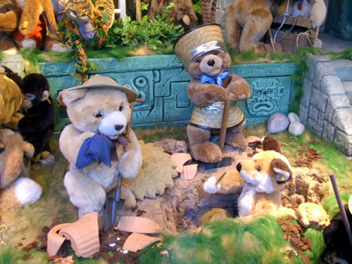 Teddybear archaeology